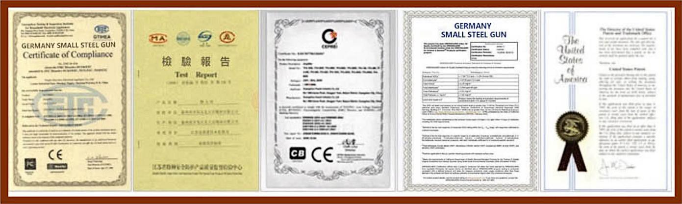 德國必邦證書